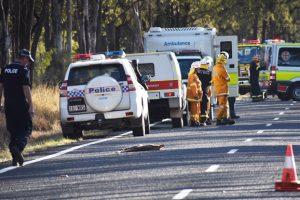 Woman Dies After Fiery Crash