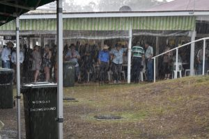 Rain Causes Cancellations