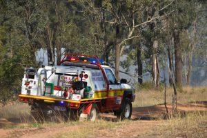 13 Fire Crews At Goodger