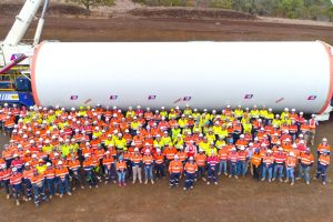 Wind Farm Celebrates A Milestone