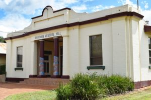 Mini-Makeover For Memorial Hall