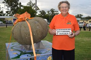 Phyllis Shows Pumpkin Pride