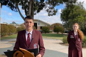 Students Honour Anzac Spirit