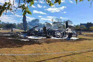 Church Fire Deliberately Lit