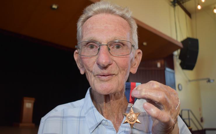Len's Medal Arrives After 75 Years