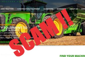 Beware Of Tractor Scams