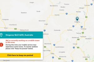 Optus Unveils Outage Map