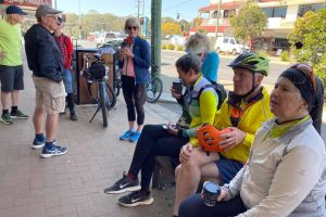 Cyclists Link Up With Nanango