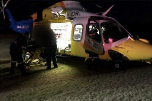 Teenager Injured In Crash