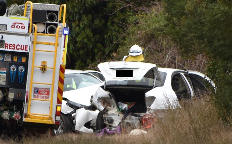 Three Hurt In Highway Crash Southburnett Com Au