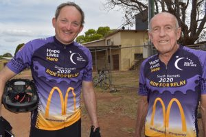 Riders 'Pedal' A Message Of Hope