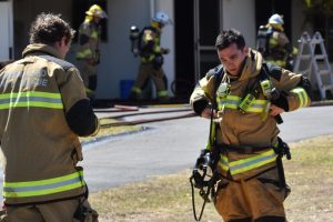 Fire Guts Nanango Unit