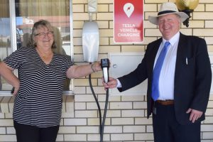 Nanango Business Sparks Up