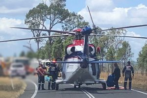 Man Airlifted After Trench Collapse