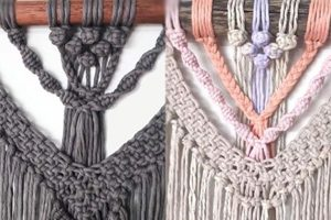 Macrame Fundraiser Back On