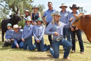 Smithfield Donates Two Classy Steers
