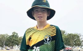 Young Cricketers In Action