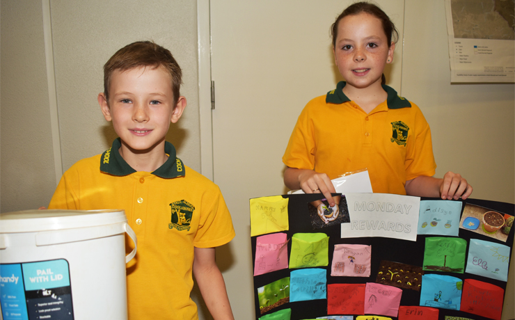 Pupils Spread Recycling Message