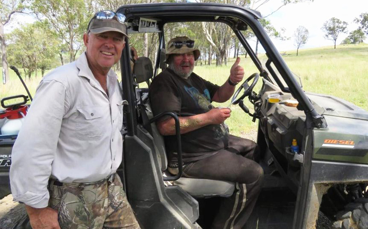 Gympie MP Finds Missing Man