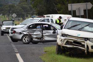 Man Injured In Crash