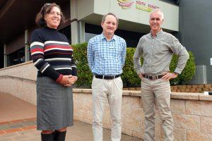 Trio Seeks Support For Rail Trail