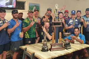 Crusaders Take Triple Crown