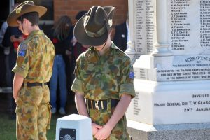 Record Crowds At Commemorations