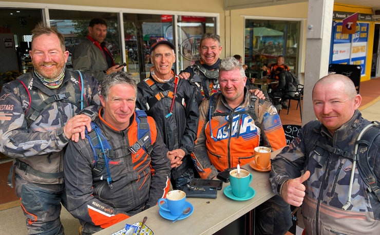 KTM Riders Explore South Burnett