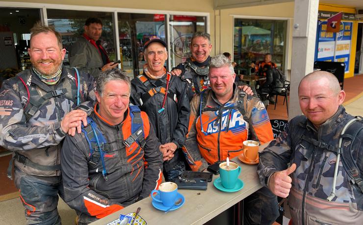 KTM Riders Explore South Burnett