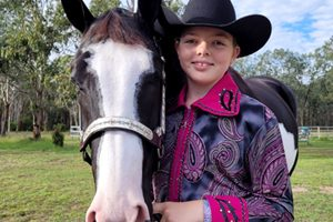 Riders In Purple For Fundraiser