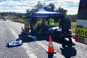 Biker Injured At Goomeri