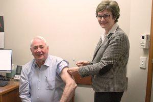 Mayor Backs COVID Vaccinations