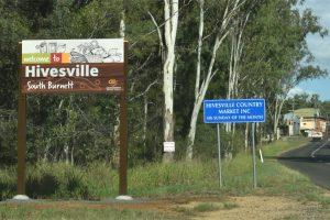 Speed Change At Hivesville