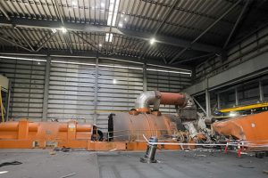 First Photo Of Power Station Damage