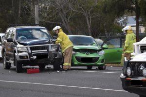 CBD Crash Stops Traffic