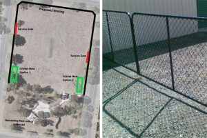 Council Plan To Fence Oval