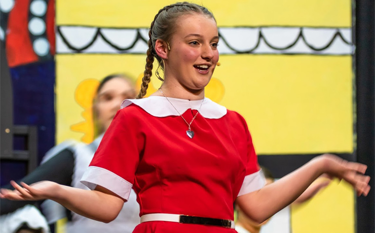 Audiences Love Young Annie