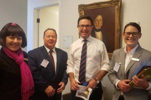 Trio Lobbies For Region In Canberra