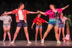 St Mary's Students Rock On Stage