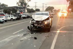 Driver Fined After Crash