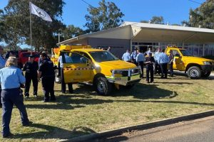 Firies Presented With Medals