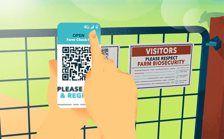 Farm Check-In App Launched