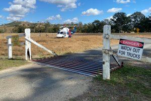 Boy Airlifted After Quad Bike Crash