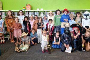 Children Dress Up For Book Week