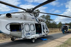 Rider Airlifted After Horse Fall
