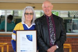 Jennifer Wins Education Award