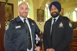 Service Salutes Fallen Officers