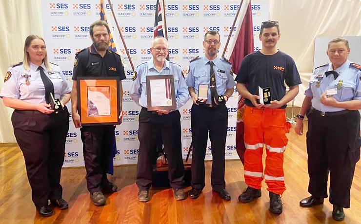 SES Volunteers Receive Awards