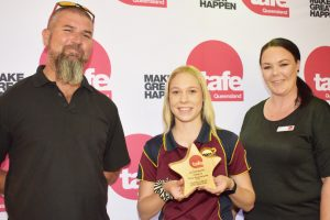 Olivia Is TAFE's First Rising Star