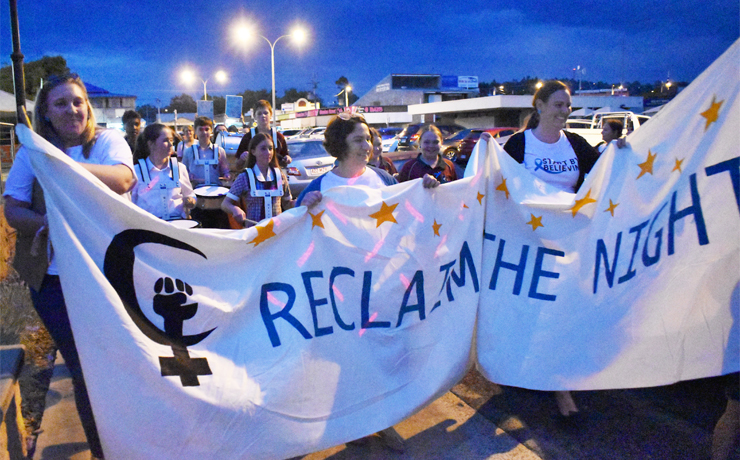 Marchers Reclaim The Night